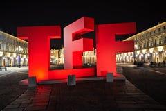 Turin Film Festival Royalty Free Stock Photo