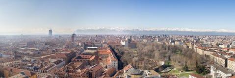 Turin från vågbrytaren Arkivfoto
