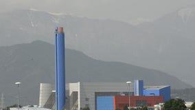 Turin, Gerbido, Piedmont Itália 27 de maio de 2018 A planta da desperdício-à-energia do GRUPO da empresa TRM-IREN video estoque