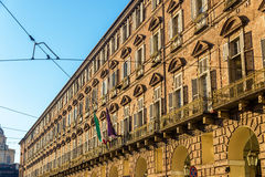 Turin government offices (Prefettura) Royalty Free Stock Photography