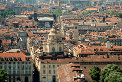 Turin from on high Stock Photography