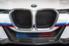 TURIN, ITÁLIA - 9 de junho de 2016 o  A coloriu BMW 3 0 Hommage R de CLS na exposição na feira automóvel do ar livre de Turin Imagens de Stock Royalty Free