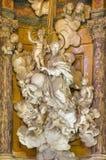 TURIN, ITÁLIA - 13 DE MARÇO DE 2017: A estátua de mármore barroco de St Joseph em di Santa Teresa de Chiesa da igreja por Simone  Foto de Stock
