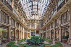 TURIN, ITALIEN - 14. MÄRZ 2017: Der Galleria Subalpina Lizenzfreies Stockbild