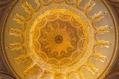 TURIN, ITALIEN - 16. MÄRZ 2017: Die Kuppel von Kirche Chiesa-della Madonna-degli Angeli durch Carlo Ceppi 1908 - 1911 Stockbilder