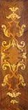 TURIN ITALIEN - MARS 13, 2017: Intarsiaen i kyrkliga Chiesa di Santa Teresa av Pietro Piffetti 1701 - 1777 Royaltyfri Foto