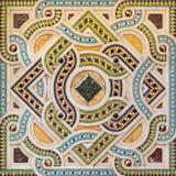 TURIN ITALIEN - MARS 15, 2017: Mosaiken på predikstolen i kyrkliga Chiesa di San Dalmazzo Royaltyfria Bilder