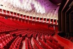TURIN (Italien) Teatroen Regio Arkivfoton