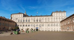 Royal Palace - Torino Turin Italy Stock Photos