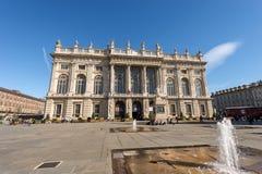 Palazzo Madama in Torino - Turin Italy Stock Image