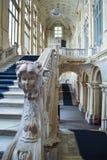 Baroque interior of Palazzo Madama, Piazza Castello, Turin stock image