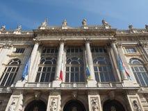 Palazzo Madama in Turin royalty free stock photography