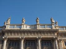 Palazzo Madama in Turin stock image