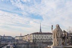 Turin, Italy - January 2016: Faith Statue Royalty Free Stock Images
