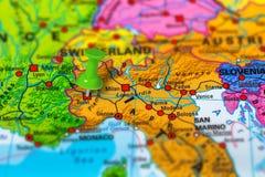 Turin Italy map Royalty Free Stock Photo