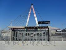 Juventus Stadium. Turin, Italy - 16 March, 2013: new Juventus stadium in Turin Royalty Free Stock Photos