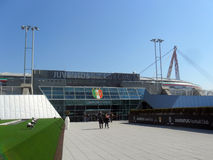 Juventus Stadium. Turin, Italy - 16 March, 2013: new Juventus stadium in Turin Royalty Free Stock Photography