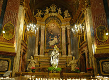 Santuario della Consolata church in Turin Stock Photography