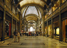 Galleria San Federico constructed in 1932 Stock Image
