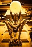 Giant Gargoyle Lamp Royalty Free Stock Image