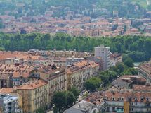 Turin in Italy Royalty Free Stock Photography