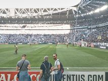 View of the Allianz Stadium, the Juventus home field stock photos