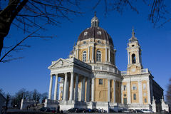 Turin-Kathedrale von Superga Lizenzfreies Stockbild