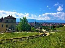 Turin landskap fotografering för bildbyråer