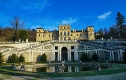 Turin, the majestic Villa della regina. Turin ,Piedmont ItalyThe Villa della Regina, the splendid seventeenth-century villa was for centuries the residence of stock image