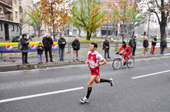 Turin Marathon 2010, Giannone Alessandro, Italy Royalty Free Stock Photos
