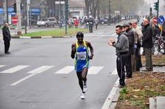 Turin Marathon 2010, John Komen, Kenya Royalty Free Stock Photos