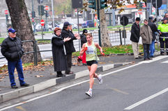 Turin Marathon 2010, Podnebesnova Nina, Russia Stock Photo