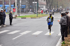 Turin Marathon 2010, Richard Rotich, Kenya Royalty Free Stock Images