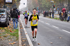 Turin Marathon 2010, Vesco Federico, Italy. Royalty Free Stock Photography