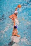 Water polo match Torino81 Vs Como Nuoto Stock Image