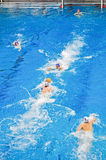 Water polo match Torino81 Vs Como Nuoto Stock Photography