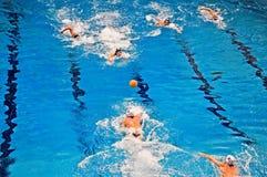 Water polo match Torino81 Vs Lavagna90 Royalty Free Stock Photos