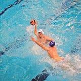 Water polo match Torino81 Vs Como Nuoto Stock Photos