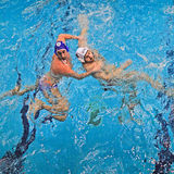 Water polo match Torino81 Vs Como Nuoto Royalty Free Stock Photography