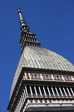 Turin Mole. A view of Turin with the Mole Antonelliana stock image