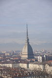 Turin Mole Antonelliana Royalty Free Stock Photography