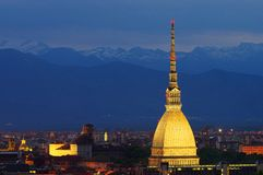 Turin Mole Antonelliana Royalty Free Stock Image