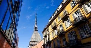 Turin, mole antonelliana Stock Photos