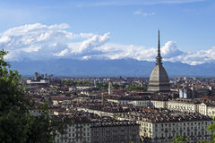 Turin Mole Antonelliana Royalty Free Stock Images