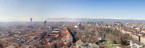 Turin from the Mole Stock Photo
