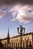 Turin palaces Royalty Free Stock Photos