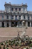 Turin Palazzo Carignano, Carignano slott Royaltyfria Foton