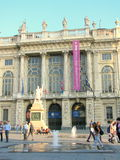 Turin, Palazzo Madama, Italy Royalty Free Stock Images