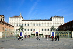 Turin Palazzo Reale Stock Image