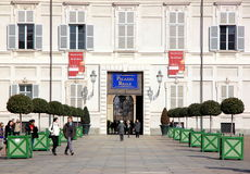 Turin Palazzo Reale Royalty Free Stock Photography
